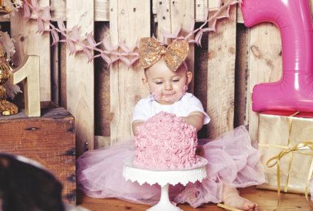 Cake Smash Shooting Mädchen